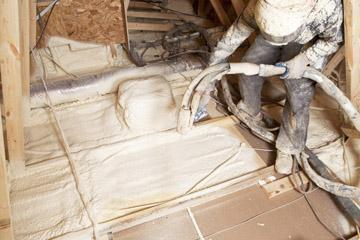 What is spray foam what is closed cell open cell how spray foam insulation works solutioingenieria Choice Image