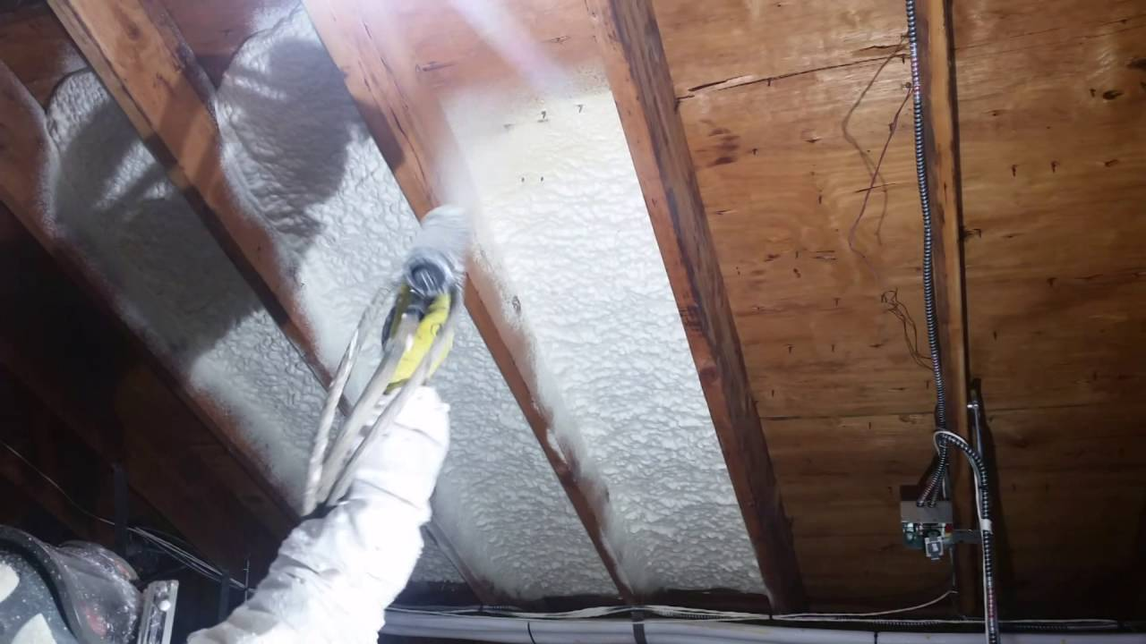 Does Spray Foam Insulation Need A Thermal Or Ignition Barrier