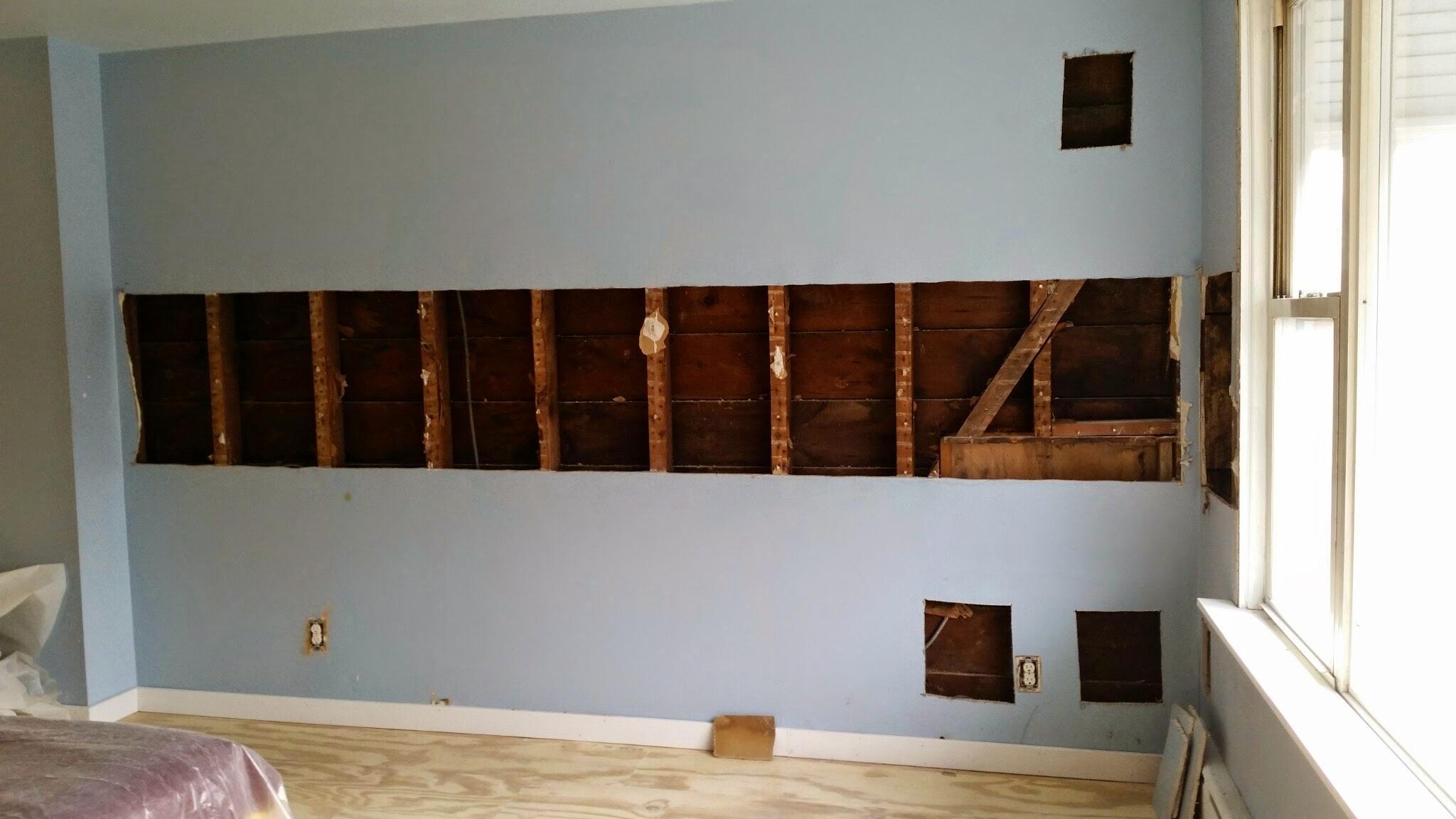 Exterior Wall Retrofit   Spray Foam Insulation   Glendale, NY 11385 (6)  Exterior Part 82