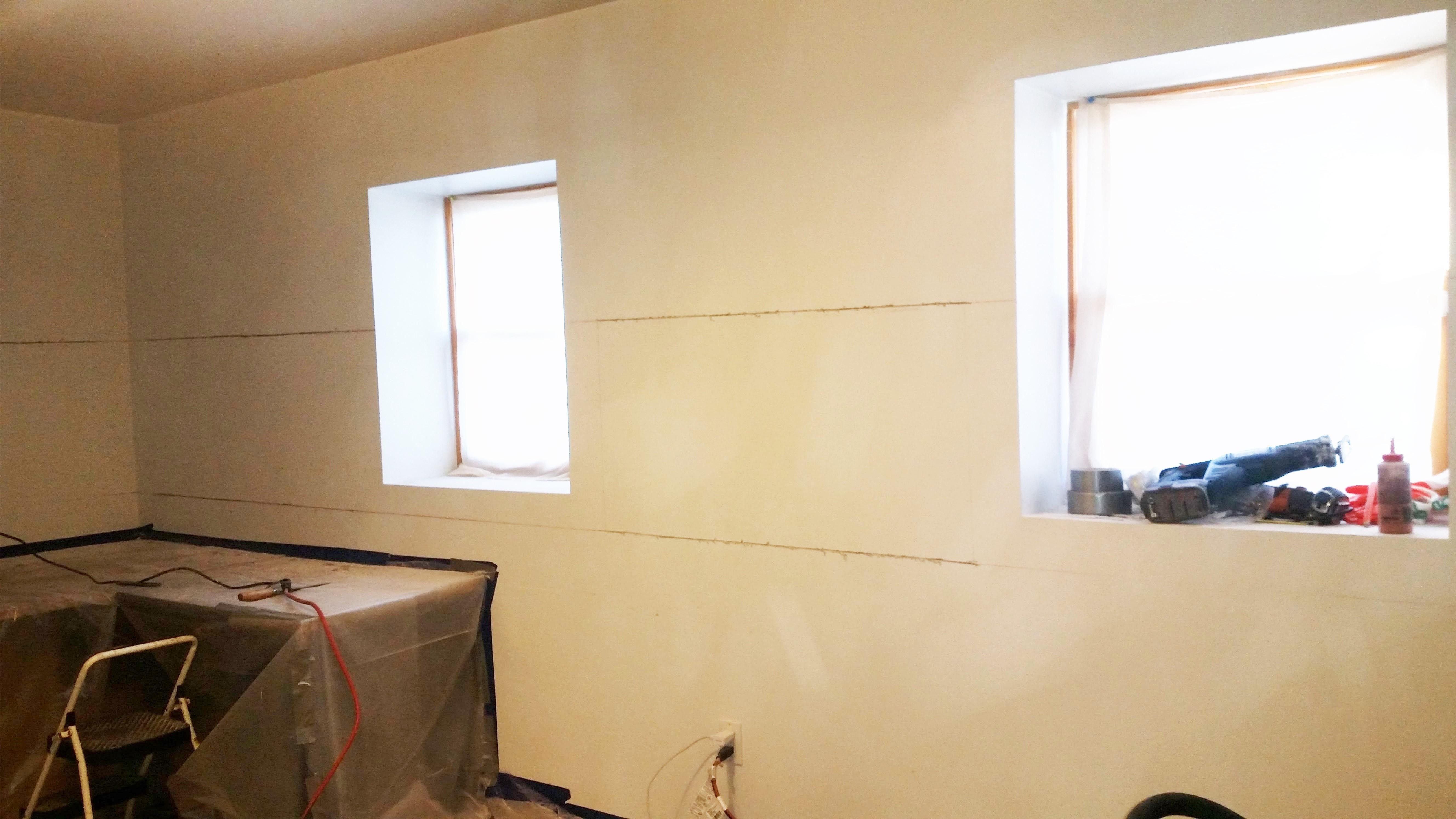 Retrofit Basement Exterior Walls Spray Foam Insulation Staten Island Ny 10301