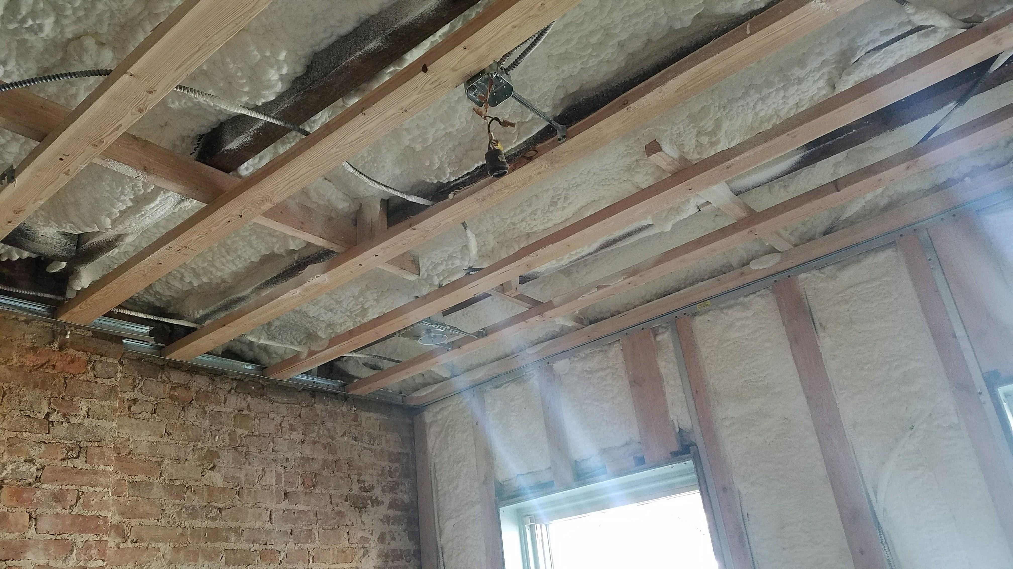 Spray Foam Insulation Projects